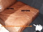 Picture shows before/after